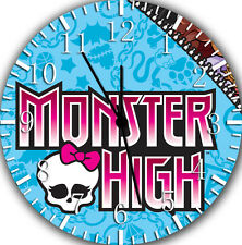"""Monster High wall Clock 10"""" will be nice Gift and Room wall Decor Z08"""