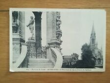 CPA - Années 40 - Environs de Rouen Bonsecours monument Jeanne d'arc 1936