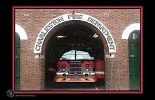 Charleston Fire Department 11x17 Poster
