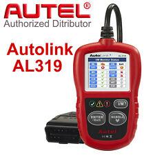 Autel AL319 OBD2 Auto CAN Diagnostic Scanner Color Screen MIL Creader HK Stock