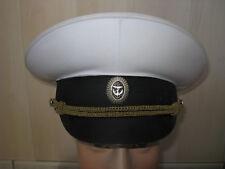 Casquette D'OFFICIER Marine Navale RUSSIE URSS T.61 grande taille