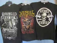 lot of 3 Avenged Sevenfold Bay Island t-shirts XS 100% cotton Metalcore Punk