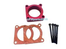 Red Throttle Body Spacer for 07-12 Nissan ALTIMA  ROGUE SENTRA SE-R Spec V 2.5L