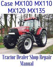 Case MX100 MX110 MX120 MX135 MX Service Repair SHOP Manual Tractors - CD ONLY