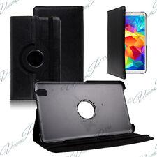 Cover Case Rotary Rotation 360° BLACK Samsung Galaxy Tab 4 8.0 SM-T335 4G LTE