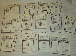 29 Vintage 1980s-90s HOT IRON TRANSFER PATTERNS! Looney Toons / Bugs.bunny /