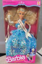 New 1991 Mattel American Beauty Queen Barbie Doll 3137 Nrfb Vintage