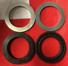 NEW TRIUMPH LEAKPROOF FORK OIL SEAL SET T140 TR7 97-7010 UK MADE