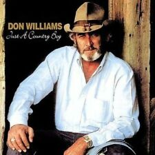 DON WILLIAMS - JUST A COUNTRY BOY NEW CD
