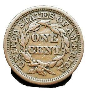 USA 1848 Liberty Head/Braided Hair Cent Higher Grade Coin