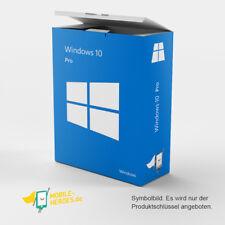 Microsoft Windows 10 Professional MS Win 10 Pro 32/64 Bit SOFORT