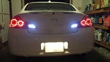 White LED Reverse Lights/Back Up For Infiniti G35 2003-2008 2004 2005 2006 2007
