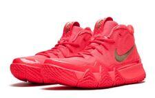 "Nike Kyrie 4 ""Red Carpet"" Red Orbit Metallic Gold Shoes -Sz 10.5 -943806 602"