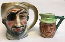 More details for artone miniature uncle tom cobley toby character jug and one marked foreign