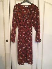 Nuevo Vestido de envoltura de Mango, talla XS, RRP £ 35.99