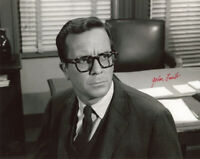 JOHN LASELL SIGNED AUTOGRAPHED 8x10 PHOTO THE TWILIGHT ZONE BECKETT BAS