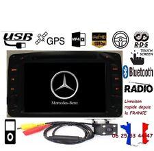 Autoradio Android gps bluetooth dvd wifi MercedesClasse C-VITO-CLK-VIANO+ CAMERA