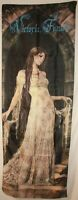 """Victoria Frances Angel in Gown Cloth Textile Poster Door Flag Banner 20.5"""" x 58"""""""