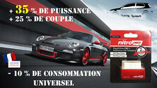 BOITIER ADDITIONNEL CHIP BOX OBD PUCE TUNING VOLKSWAGEN GOLF 4 1.9 TDI 130 CV