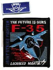 "Fifth-Generation Lockheed Martin F-35 Fighter SPIKE Pencil Pocket 2"" 2-Tab Set"