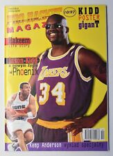 Pro-Basket Magazyn 10/97 Polish Basketball Magazine with Poster Shaquille O'Neal