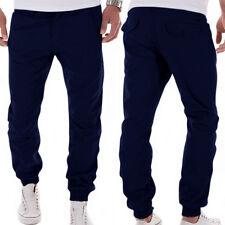 2017 Men Casual Gym Tracksuit Sweat Pants Bottoms Plain Jogging Trousers Joggers