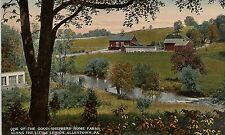 One of the Good Shepherd Home Farms Allentown PA Postcard