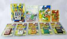 RARE lot Nintendo 3 Mario Kart + 5 RADIO + 1 CASSETTE NIB Retro Gameboy GB 1993