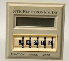 NTE  R65-11AD10 Digital time delay relay/counter