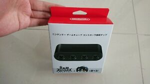 Nintendo Official Game Cube Controller Adapter Connection Tap Smash Bros Japan