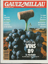 GAULT MILLAU  magazine - septembre 1989