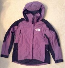 VGC! Women's The North Face Purple/Black Gore Tex Lined Coat Sz M