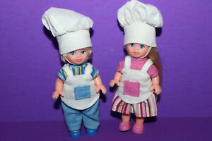 Barbie Rare Simba Tommy & Kelly Bakers Chef Dolls
