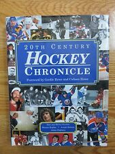20th Century HOCKEY CHRONICLE Book BOBBY ORR WAYNE GRETZKY ROCKET RICHARD HOWE