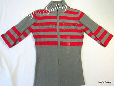 Guess Sweater Sweatshirt Cardigan Jacket  Rhinestones T Shirt  Top Blouse NWT L