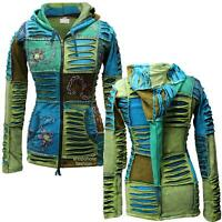 Women Pixie Hippie Hoodie Festival Ladies Jacket Full Sleeved Ethnic Hippy Tops