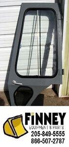 Case 580K 580L 580SL 580SK Backhoe Cab Door COMPLETE 137868A3 194021A2 97402C1