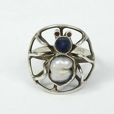 Vintage Mexican Sterling Silver Spider Ring