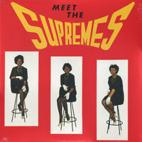 THE SUPREMES Meet The Supremes (2018) reissue vinyl LP album NEW/SEALED