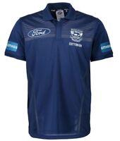 Geelong Cats 2018 AFL Media Polo Shirt Sizes S-5XL BNWT