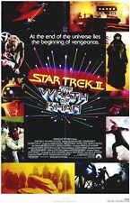 STAR TREK 2: THE WRATH OF KHAN Movie POSTER 11x17 Leonard Nemoy
