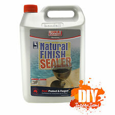 Bondall Natural Finish Sealer Water Moisture Repelling Clear Concrete Tile Paver