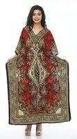 New Long Kaftan dress Hippy Boho Maxi,1 Size Plus Women Caftan Top Dress Gown