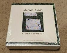 Mosaic Stepping Stone Kit Everything Needed To Create A Beautiful Stone