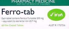 =>PRICE SMASH FERRO TAB 60 TABLETS IRON SUPPLEMENT AFT, ANAEMIA, PREGNANCY