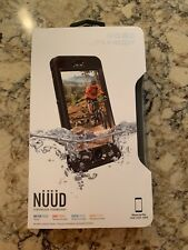 Lifeproof iPhone 6s Plus Case, NUUD, Screenless Technology, Black, NWT