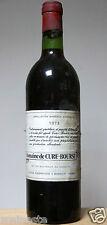 vin Bordeaux rouge Margaux 1973 Domaine de Cure Bourse  bouteille 75cl wein wine