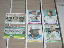 1979 TOPPS LOT YOU PICK (20) COMPLETE YOUR SET - HUGE INVENTORY w/ STARS - ExMt+