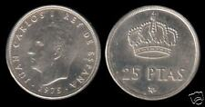 Juan Carlos 1º  25 Pesetas 1975 estrella 77 Sin Circular