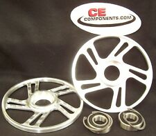 "Billet 71/4"" Idler wheels Skidoo / Actic Cat / Polaris / Yamaha snowmobile"